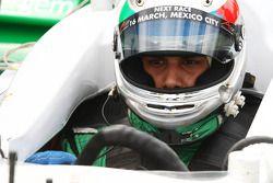 Adam Khan, driver of A1 Team Pakistan
