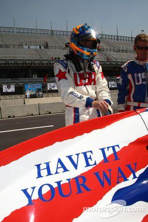 Jonathan Summerton, pilote de A1 Equipe des Etats-Unis