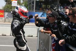 Jonny Reid, driver of A1 Team New Zealand, winner of the sprint race