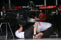 Mécaniciens McLaren Mercedes