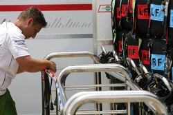 Team Honda mechanic