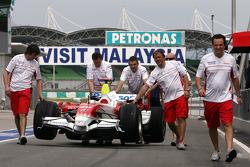 Toyota F1 Team atmosfer