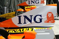 team Renault motor kapağı