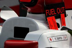 Super Aguri F1 Team, SA08, detay