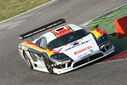 #4 Peka Racing NV Saleen SR7: Anthony Kumpen, Bert Longin