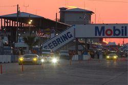 Sunset over Sebring