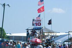 Sebring fans at Turn 10