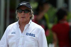 Sir Jackie Stewart, Représentant RBS et ancien chamion du monde de F1