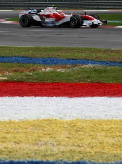 Timo Glock, Toyota F1 Team, TF108