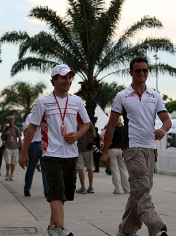 Timo Glock, Toyota F1 Team, Vitantonio Liuzzi, Test Pilotu, Force India F1 Team