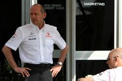 Ron Dennis, Presidente de McLaren y director del equipo