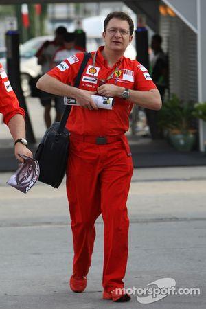 Nicholas Tombazis, Scuderia Ferrari, Chief Designer