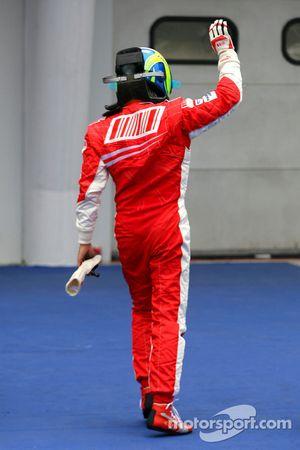 pole position Felipe Massa, Scuderia Ferrari