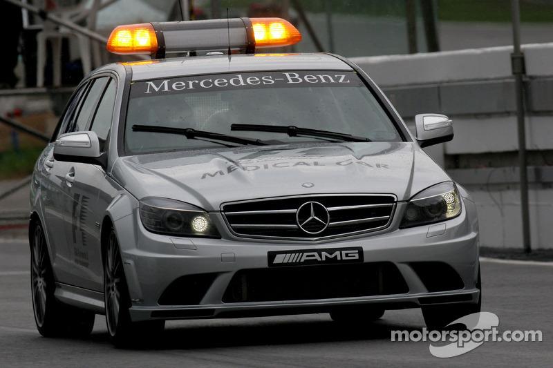 Coche médico de la F1 y la GP2