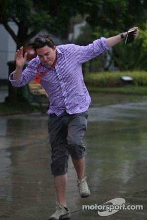 Adam Hay-Nicholls, Jumping in the paddock