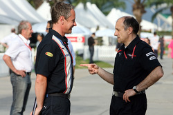 Takım Menajeri Jonathan Wheatley ve Takım Patronu Franz Tost