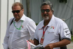 Vijay Mallya, Force India F1 Team, Owner ve Kingfisher CEO