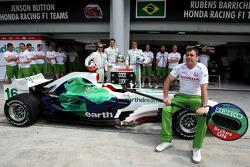 Honda F1 Team Bid farewell to Alistair Gibson, Honda Racing F1 Team, Chief Mechanic who will leave t