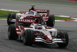 Takuma Sato, Super Aguri F1, SA08 ve Anthony Davidson, Super Aguri F1 Team, SA08