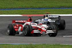 Takuma Sato, Super Aguri F1 ve Nico Rosberg, WilliamsF1 Team