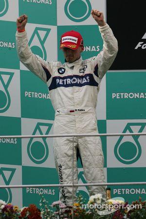 Podio: segundo lugar de Robert Kubica