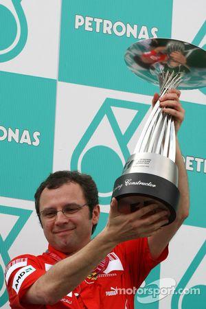Podium: Stefano Domenicali, Scuderia Ferrari, directeur sportif