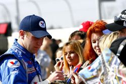 Chase Miller signs autographs for the fans