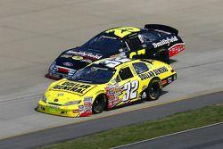 Denny Hamlin and Bobby Hamilton Jr.