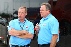 Al Unser Jr. and Brian Barnhart