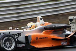 Marcus Ericsson - Fortec Motorsport at Lodge Corner