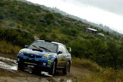 Travis Pastrana and Derek Ringer, Subaru Rally Team USA Subaru Impreza WRX STI