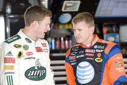 Dale Earnhardt Jr. et Jeff Burton