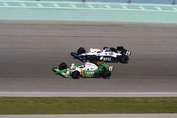 Tony Kanaan et Marco Andretti