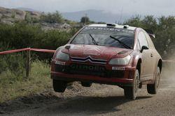 Конард Раутенбах и Дэвид Сеньор, Citroen C4 WRC
