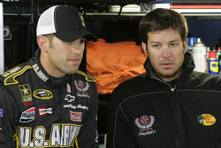 Eric Almirola and Martin Truex Jr.