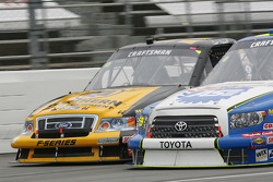 Erik Darnell races with Ted Musgrave