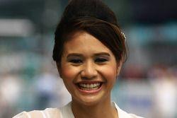 GP2 Asia Grid Girl