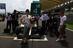 Romain Grosjean of ART Grand Prix