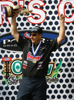 Le vainqueur en Pro Stock Greg Anderson