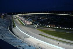 Homestead-Miami Speedway at night