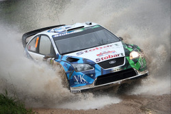 Gianluigi Galli and Giovanni Bernacchini, Stobart VK M-Sport Ford World Rally Team, Ford Focus RS WR