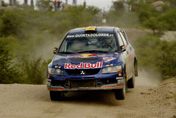 Bernardo Sousa and Carlos Magalhaes, Mitsubishi Lancer Evolution IX
