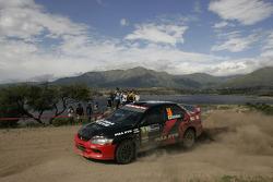 Fumio Nutahara et Daniel Barritt, Mitsubishi Lancer Evolution IX