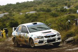 Martin Rauam and Silver Kutt, Mitsubishi Lancer Evolution IX