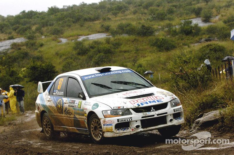 Martin Rauam and Silver Kutt, Mitsubishi Lancer Evolution IX