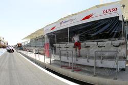Toyota F1 Team pitwall