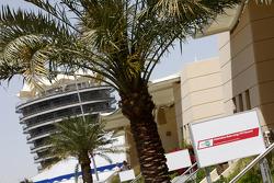 Bahrain International Circuit paddock