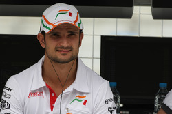 Vitantonio Liuzzi, Test Driver, Force India F1 Team