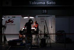 Night atmosphere, Takuma Sato, Super Aguri F1 Team