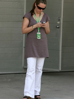 Carrie Davidson, Wife of Anthony Davidson